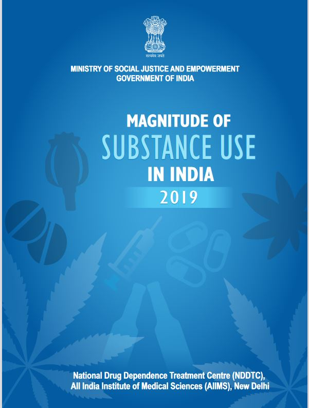 Magnitude of substance use in India
